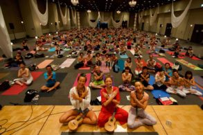 yogajapan2018 ~Day and Night yoga~ (8/25)